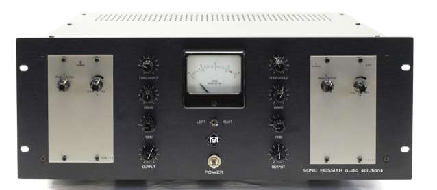 Telefunken U273 modified with additional control functions and gain reduction and  VU meters custm made by sonicmessiah